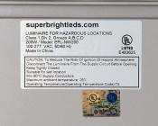 200 Watt LED Explosion Proof Light for Class 1 Division 2 Hazardous Locations - 17,000 Lumens