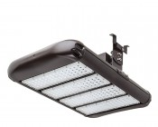 LED Area Light - 200W (650W HID Equivalent) - 5300K - 22,000 Lumens: Shown with Surface Mount Bracket HPAL-SM (Sold Separately).