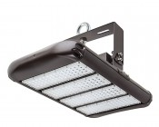 LED Area Light - 200W (650W HID Equivalent) - 5300K - 22,000 Lumens: Shown With HPAL-UB-IH High Bay Mounting Bracket And Eye Bolt (Sold Separately).