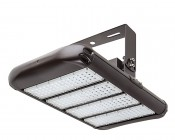 LED Area Light - 200W (650W HID Equivalent) - 5300K - 22,000 Lumens: Shown With HPAL-UB High Bay Mounting Bracket (Sold Separately).
