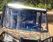 "50"" Off Road LED Light Bar - 144W: Customer Installed on ATV"
