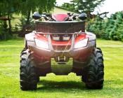 "20W Mini-Aux 4"" Dual Row LED Off Road Work Light - CREE: Installed On ATV"