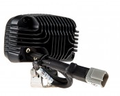 """20W Mini-Aux 4"""" Dual Row LED Off Road Work Light - CREE: Back View"""
