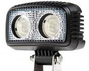 "20W Mini-Aux 4"" Dual Row LED Off Road Work Light - CREE"