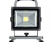 20W Portable Rechargeable LED Work Light - Dimmable: Front View