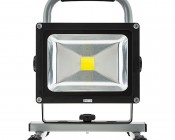 20W Portable High Powered Rechargeable LED Work Light: Front View