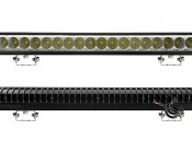 """21"""" Heavy Duty Off Road LED Light Bar - 54W: Front & Back View"""
