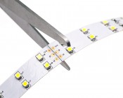 2NFLS-W600-VCT - Flexible Light Strips may be cut at indicated locations - marked by a scissor symbol