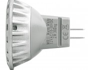 3 High Power LED MR11 Bulb: Profile View