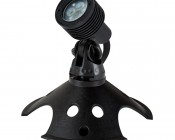 3 Watt LED Landscape Spot Light: Shown with Weighted Base (sold separately)
