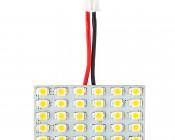 Universal LED Kit - 30 SMD LED PCB: Front View