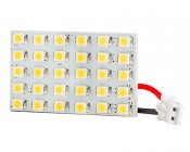 30 High Power LED Rectangle PCB Lamp Used With BA15S Base