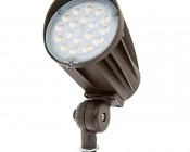 30 Watt Knuckle-Mount LED Flood Light - Bullet Style
