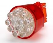 Red 12 LED 3156 Bulb