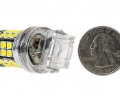 3156 LED Bulb - 45 SMD LED Tower - Wedge Retrofit: Back View