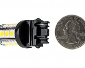 3156 LED Bulb - 18 SMD LED Tower - Wedge Retrofit: Back View
