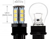 3156 LED Landscape Light Bulb - 18 SMD LED Tower - Wedge Retrofit - 280 Lumens: Profile View