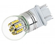 3157 LED Bulb w/ Stock Cover - Dual Function 36 SMD LED Tower - Wedge Retrofit
