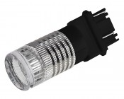3157 LED Bulb w/ Brake Flasher - Dual Function 1 High Power LED - Wedge Retrofit