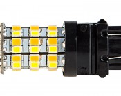 3157 Switchback LED Bulb - Dual Function 60 SMD LED Tower - A Type - Wedge Retrofit
