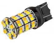 7443 Switchback LED Bulb - Dual Function 60 SMD LED Tower - B Type - Wedge Retrofit
