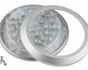 36 High Power SMD LED Puck Light Fixture: Open