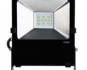 36 Watt High Power LED Flood Light Fixture: Front View
