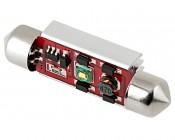 3910 LED CAN Bus Bulb - 1 SMD LED Festoon - 39mm