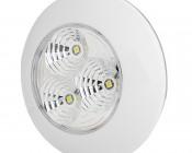 3 Watt Round Dome Light LED Fixture