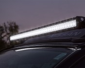 "40"" Off Road LED Light Bar - 200W: Light Bar Attached To Roof"