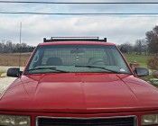 "40"" Off Road LED Light Bar - 200W: Customer Installed On Truck, Thanks Miles"