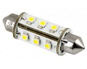 6451 LED Bulb - 12 SMD LED 360 Degree Festoon - 42mm