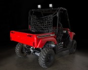 "4.6"" Heavy Duty Off Road LED Light Bar - 18W: Shown Installed On UTV Roll Cage."