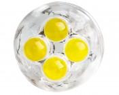 194 LED Bulb - 4 LED - Miniature Wedge Retrofit: Front View