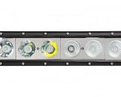 "50"" Off Road LED Light Bar with Spot/Flood Multi Beam - 240W: Close Up View Of Spot & Flood LEDs"