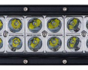 """40"""" Off Road Curved LED Light Bar - 240W: Detail Image Of LEDs"""