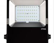 50 Watt High Power LED Flood Light Fixture: Front View