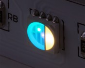 5050 SMD LED - RGBNW Surface Mount LED w/120 Degree Viewing Angle: Both RGB & White Turned On