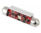 578 LED CAN Bus Bulb - 1 SMD LED Festoon - 44mm