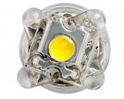 194 LED Bulb - 5 LED - Miniature Wedge Retrofit: Front View