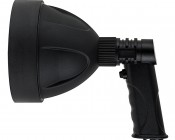 "6"" Round 10W Handheld Spot LED Work Light: Profile View"