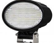 "6"" Oval 24W Heavy Duty High Powered LED Work Light: Available In 80 or 35 Degrees"