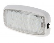 "6"" Rectangular LED Dome Light Fixture With Switch"