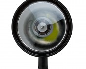 "6"" Round 10W Handheld Spot LED Work Light: Front"