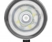 "6"" Round 15W Heavy Duty High Powered LED Work Light: Front View"