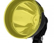 "6"" Round LED Work Light Lens Cover - Yellow: (light not sold separately)"