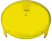 "6"" Round LED Work Light Lens Cover - Yellow"