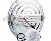 "6"" Round LED Panel Light - 15W: Back View"