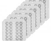 6pc Lens Kit for MDHB-300W Modular LED High Bay Light