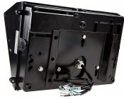 60W High Power LED Wall Pack: Back View With Mounting Bracket Attached